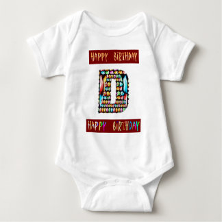 Roteiro de HappyBirthday - alfabeto ALFA T-shirt
