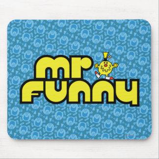 Rotulação amarela do Sr. Engraçado | Mouse Pad
