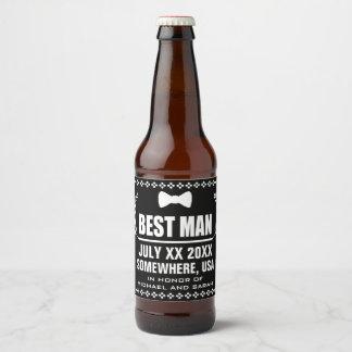 Rótulo Para Garrafa De Cerveja Melhor homem feito sob encomenda