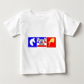 Roupa 2016 da eleição dos E.U. Camiseta Para Bebê