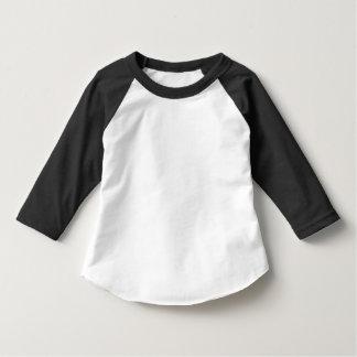 Roupa americano da criança 3/4 de t-shirt do
