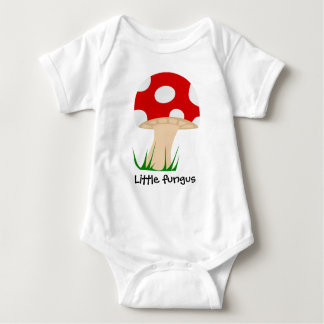 Roupa cómico do miúdo do fungo pequeno t-shirt