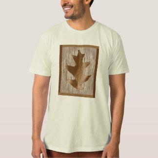 Roupa da folha do carvalho camiseta