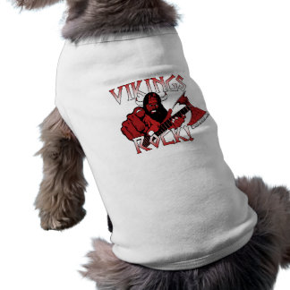 Roupa do animal de estimação da rocha de camisa sem mangas para cachorro