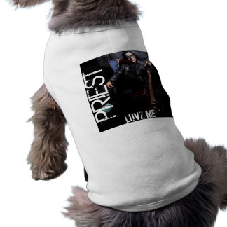 Roupa do animal de estimação do MUNDO do PAVÃO-DO- Camisa Sem Mangas Para Cachorro