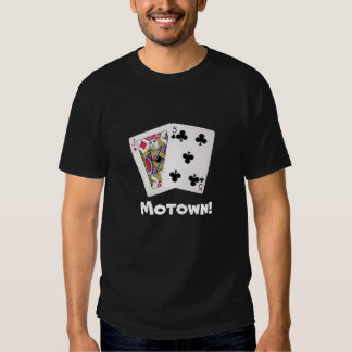 Roupa do póquer camisetas