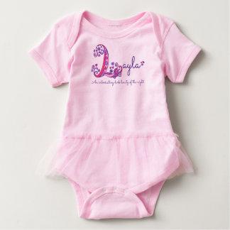 Roupa dos bebés do nome e do significado de Layla Body Para Bebê