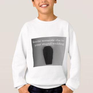 Roupa estúpido do casamento camiseta