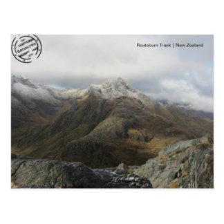 Routeburn Track 2 (Nova Zelândia cartão postal)