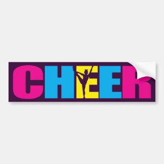 Roxo Cheerleading personalizado do elogio Adesivo Para Carro