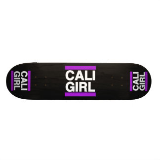 Roxo da menina de Cali Shape De Skate 19,7cm