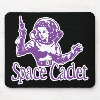 Roxo do cadete do espaço mouse pad