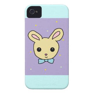 Roxo do coelho do bebê capas iPhone 4 Case-Mate