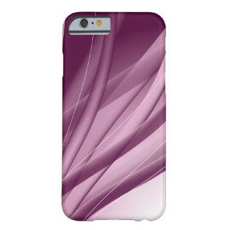 Roxo e bonito capa barely there para iPhone 6