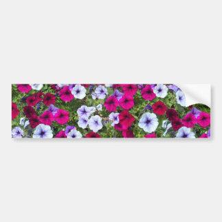 Roxo & flores da lavanda: adesivo para carro
