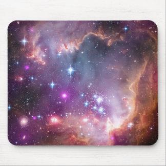 Roxo galáctico do espaço mouse pads