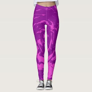 roxo leggings