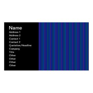 Roxo vertical do verde azul de teste padrão cartão de visita