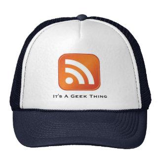 RSS é um boné de beisebol da coisa do geek