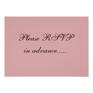 RSVP engraçado convida Convite 12.7 X 17.78cm