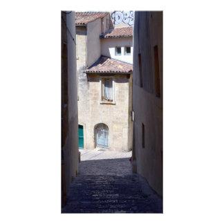 Ruas de Europa Cartão Com Foto
