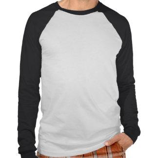 """RUDOS """"nós amamos Puro"""" branco/preto/Longsleeve Camisetas"""