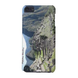 Ruínas antigas Peru de Machu Picchu da paisagem da