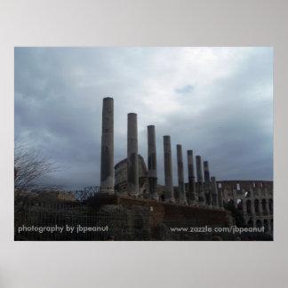 Ruínas romanas/fotografia pelo jbpeanut poster