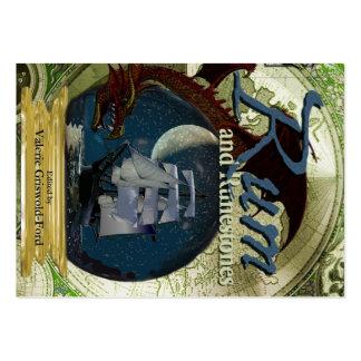 Rum e cartões carnudos de Runestones Cartão De Visita Grande