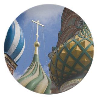 Rússia, Moscovo, quadrado vermelho. St. Manjericão Louças De Jantar
