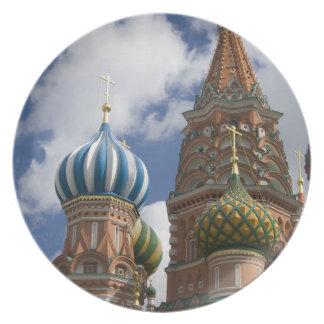 Rússia, Moscovo, quadrado vermelho. St. Manjericão Prato De Festa