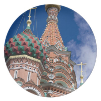 Rússia, Moscovo, quadrado vermelho. St. Manjericão Pratos De Festas