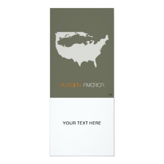 Russo América Convite 10.16 X 23.49cm