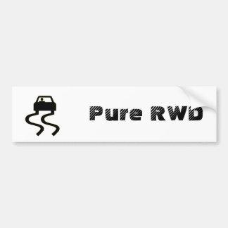 RWD puro Adesivo Para Carro