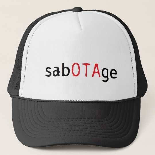 sabOTAge Boné