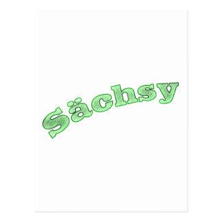 sächsy Saxônia sexy Cartão Postal