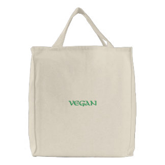 Saco bordado costume do Vegan Bolsas