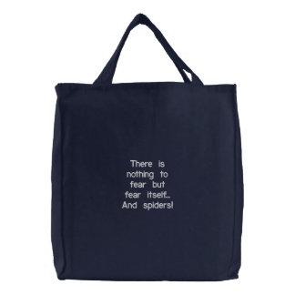 Saco bordado costume bolsas para compras