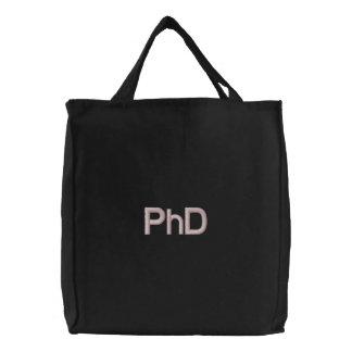 Saco bordado PhD Bolsas Bordadas