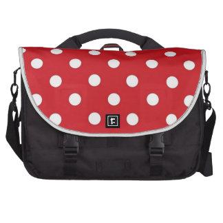 Saco branco vermelho do laptop do viagem das bolin mochila para notebook