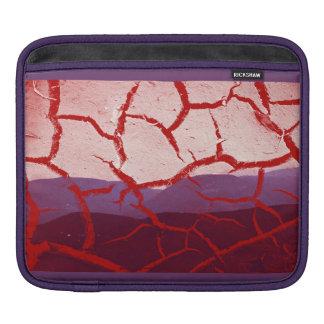 saco com Vermelho, lilás tom harmonioso/ Bolsa Para iPad
