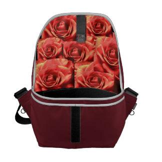 Saco cor-de-rosa bolsa mensageiro