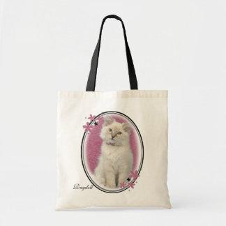 Saco cor-de-rosa do ragdoll bolsa