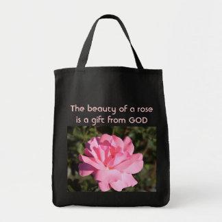 saco cor-de-rosa bolsas de lona