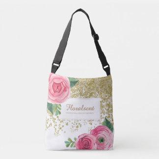 Saco customizável elegante dos rosas de Boho Bolsas Carteiro