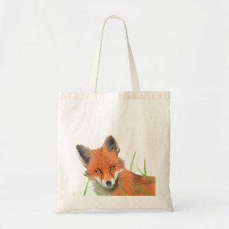 saco da raposa vermelha sacola tote budget
