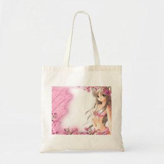 saco da senhora cor-de-rosa bolsas para compras