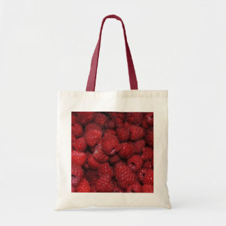 Saco das framboesas vermelhas bolsas de lona