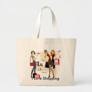 Saco de compras de Shopaholic Bolsa Tote Grande