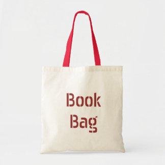 Saco de livro - deixe todos saber o que você está bolsa